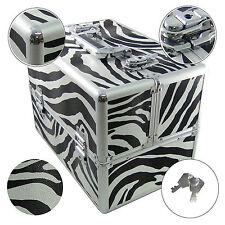 Dynasun Bs355 Zebra Maletín maquillaje Cosmética joyas caja maleta belleza cofre