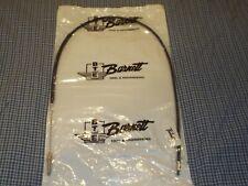BRAND NEW SEALED Barnett Black Vinyl Clutch Cables Standard 101-30-10014.....#16