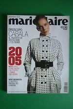 MARIE CLAIRE 1/2005 KIM NOORDA KEVIN BACON KYRA SEDGWICK WILD BOY MAX CARDELLI