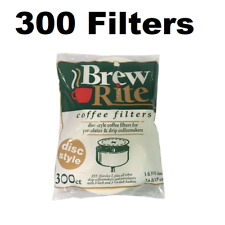 "3.5"" Disc Coffee Filter for Melitta 628354 (Package of 300)"