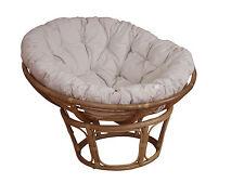 Sessel mit Kissen Papasansessel Sessel Durchmesser ca. 100 cm