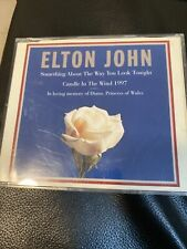 ELTON JOHN Something About The Way You Look Tonight+Candle In The Wind Maxi CD!
