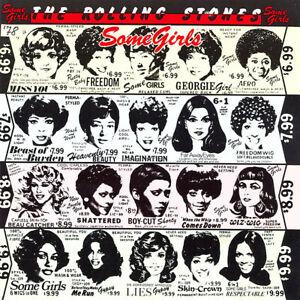 The Rolling Stones Some Girls CD Album 1987 CBS 450197 2VGC