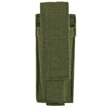 Voodoo Tactical Single Pistol Mag Flashlight Pouch Holster MOLLE MOD OD Green