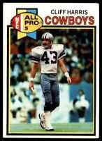 1979 Topps #360 Cliff Harris Football HOF Class of 2020 Dallas Cowboys (A)