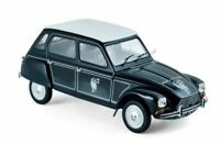NOREV 181622 CITROEN DYANE 6 CABAN diecast model car Blue marine white 1977 1:18