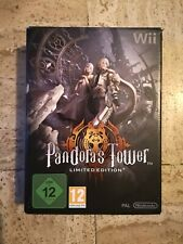 Jeu Pandora's Tower Pandora - Nintendo Wii - Coffret Collector Limited Edition