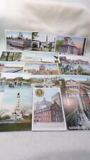 Lot of 16 Postcards 1906-1930's Boston Scenes - Only $0.94 Each