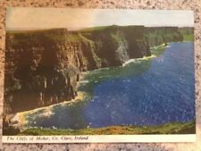 POSTCARD UNUSED IRELAND, Co. CLARE-THE CLIFFS OF MOHER