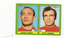 CALCIO  FIGURINA CALCIATORI  EDIS 1970-71  PERUGIA  PANIO   VANARA      NUOVA