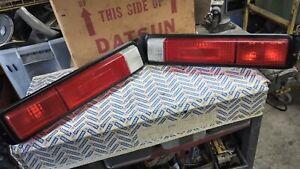 Datsun 67- 72 521 OEM Tail Light Assemblies (2x, Left & Right)