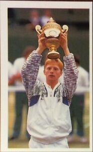 Boris Becker Germany, Tennis Player, Junior Question of Sport,Mint Condition