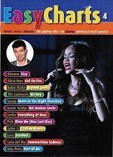 Klavier / Keyboard Noten : Easy Charts Band 4 - leicht - HITS POP / ROCK MF3504