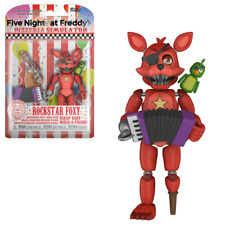 FNAF Five Nights At Freddy's ROCKSTAR FOXY Articulated Action Figure NEW
