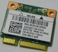 New OEM Dell DW1705 802.11n Wireless BT 4.0 PCIe Half QCWB335 QCA9565 C3Y4J