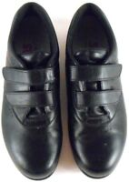 SAS Me Too Walking Comfort Shoes Black Women's Size 7.5 N Diabetic Easy Close