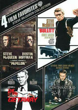 Steve McQueen Collection 4 Film Favorites 2 Discs 2010 DVD