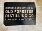 Old forester tin sign man cave