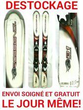 "ski enfant ROSSIGNOL ""BANDIT"" tailles:110cm/120/130/140/150cm+fixations"