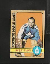 3565* 1972-73 OPC # 92 Jacques Plante Ex-Mt