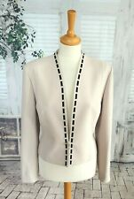 CONDICI Ivory/off white special occasion jacket size 14