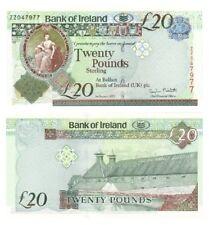 Bank of Ireland £20 REPLACEMENT ZZ Prefix - BYB ref: NI.238 - UNC.