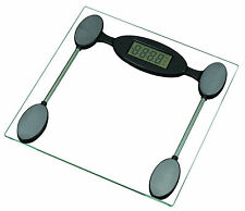 Digital Bathroom Scale Toughened Glass Electronic Weight Scales Clear New 29-61