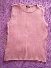 Smart purple ribbed effect top size 14 business casual VGC