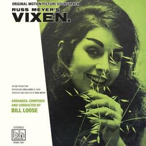 RUSS MEYER - BILL LOOSE - VIXEN - ORIGINAL FILM SOUNDTRACK - STEREO LP