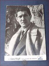 LUCIANO VIRGILI Fotografia d'epoca con Autografo, Sanremo, La Voce del Padrone