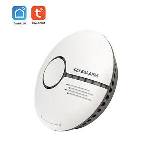 Rilevatore di fumo WiFi Sensore di allarme antincendio intelligente Sistema X2B5