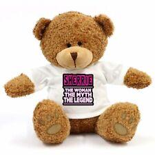 Sherrie - The Woman, Myth, Legend Teddy Bear - Gift For Fun