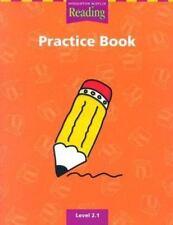 Houghton Mifflin Reading Practice Book: Level 2.1 (Houghton Mifflin Reading a