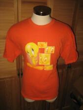 Tweety Bird Orange T Shirt XL
