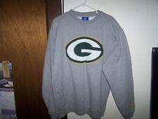 Green Bay Packers Reebok NFL Sweat Shirt Sweatshirt  HEAVY QUALITY  SIZE LARGE
