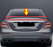 New OEM Mercedes E W213 AMG Boot Lid Trunk Sport Spoiler Black A21379006009040
