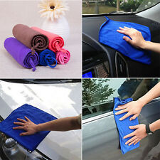 5Pcs Hot Absorbent Microfiber Cleaning Drying Cloth Auto Care Soft Wash Towels