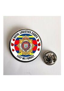 Royal Logistics Corps Lest We Forget Army lapel pin  Key Ring / Fridge Magnet