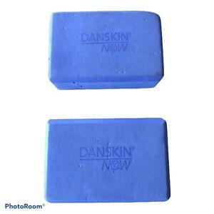 2 Danskin Now - Purple foam Yoga Blocks Pre Owned