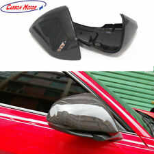 For 2014+ Ford Mustang GT Carbon Fiber Mirror Cover with Signal Light EU-Version