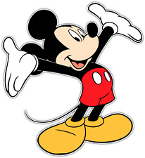 "Mickey Mouse Kids Cartoon Car Bumper Window Sticker Decal 4.5""X4.5"""