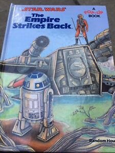 1980 Star Wars The Empire Strikes Back A Pop-Up Book Children's Graphic Novel