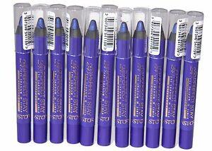 12 x Astor Perfect Stay Eye Shadow & Liner Pencils | Deep Purple |  RRP £42