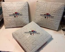2013 ALCS Game 5 Tigers Vs Red Sox Game Used 1st, 2nd & 3rd Bases MLB