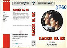 CACCIA AL RE (1984) vhs ex noleggio