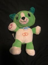 LeapFrog My Pal Scout Interactive Plush Puppy Dog Only Educational Baby 13""
