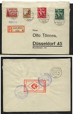 Germany ,Lorch  registered cover nice franking 1938 local use       KL0107