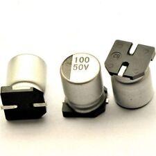 10uF 50V CONDENSATORE ELETTROLITICO SMD 6,3mm x 5.4mm  5 pezzi