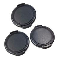 40.5mm Plastic Snap on Front Lens Cap Cover Universal for DV Camcorder Black