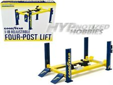 GREENLIGHT 1:18 ADJUSTABLE FOUR POST LIFT GOODYEAR 13581